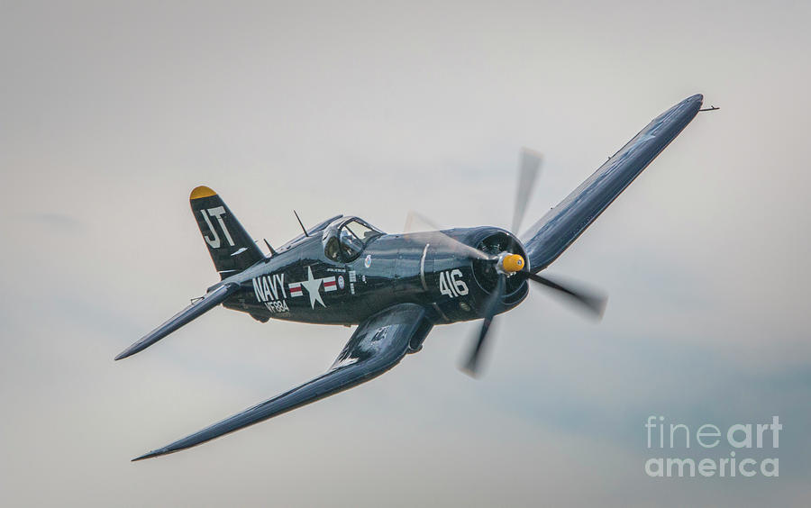 Corsair Approach by Tom Claud