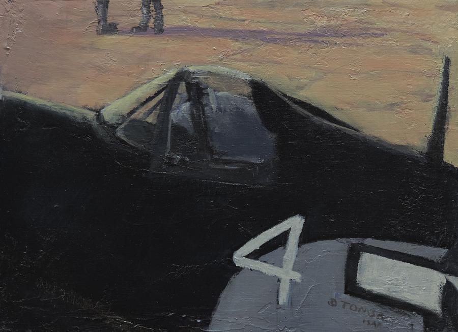 Corsair Cockpit by Bill Tomsa