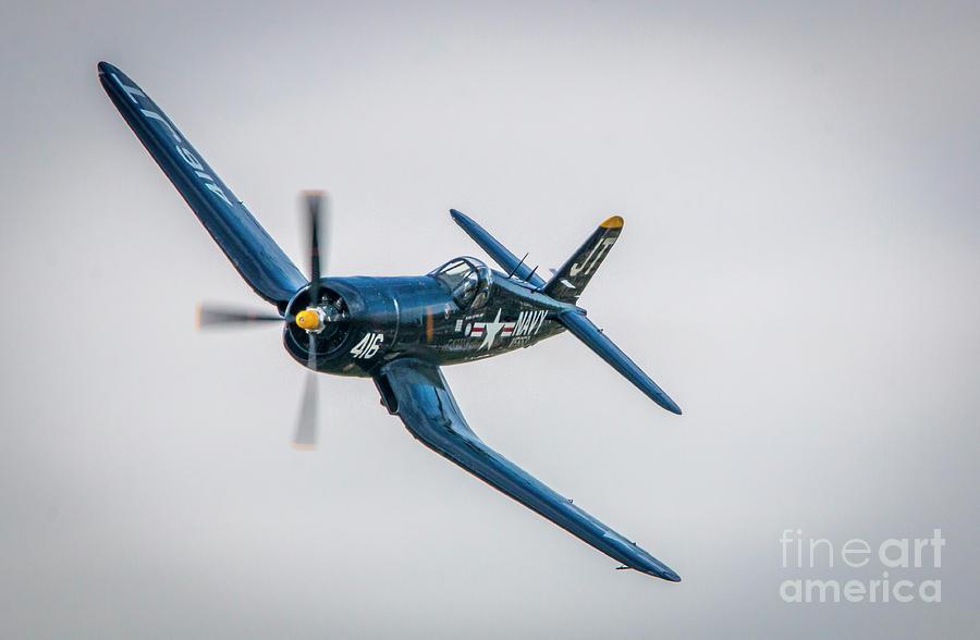 Corsair Left Turn by Tom Claud