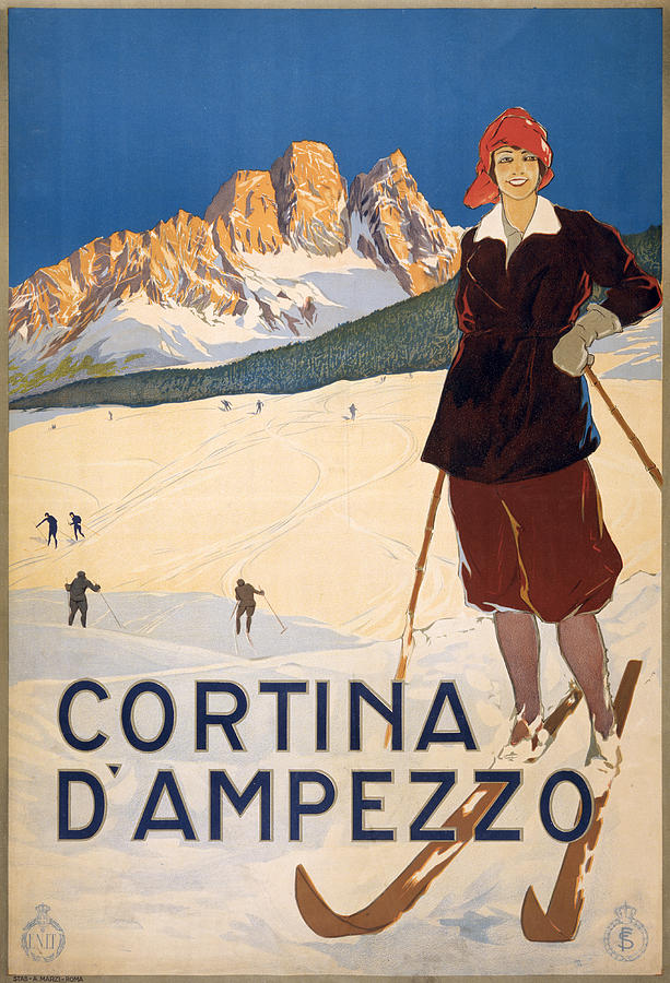Cortina Dampezzo Poster Photograph by Graphicaartis