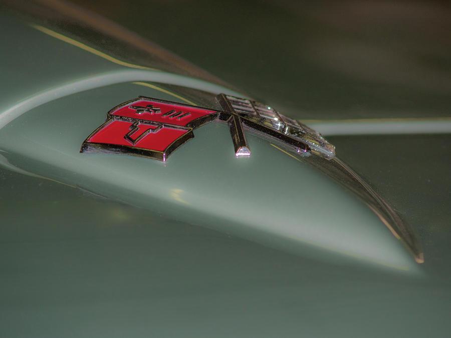 Corvette Flag Photograph