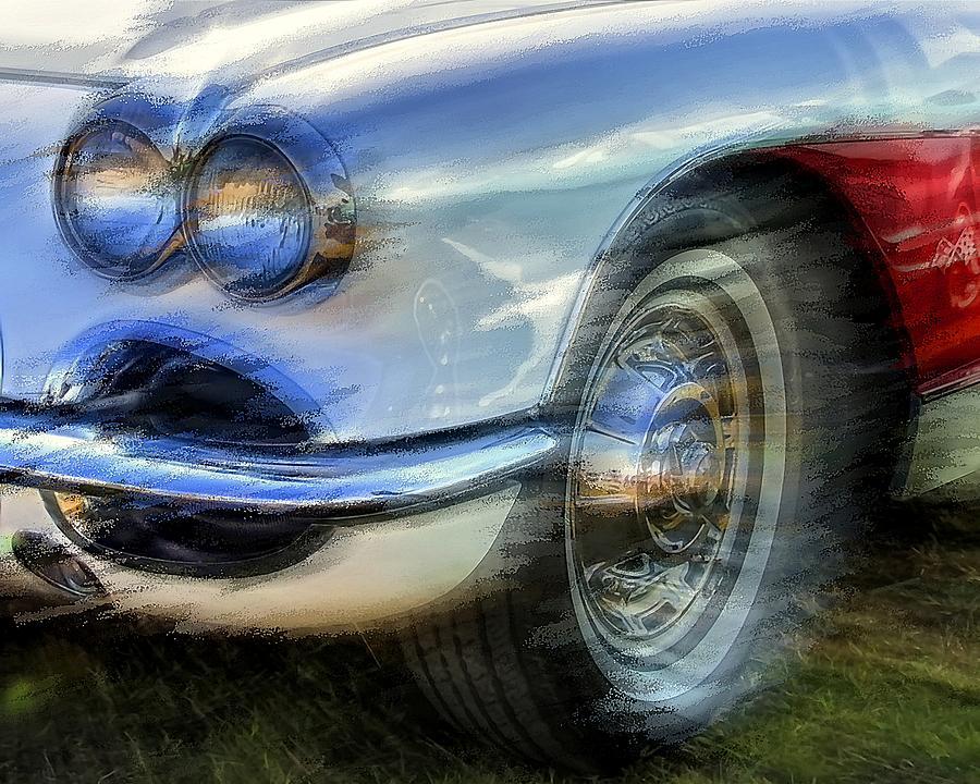 Corvette Headlights by David Manlove