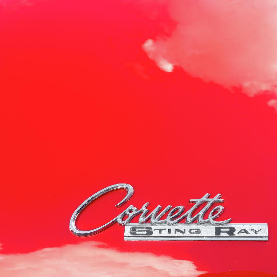 Corvette Stingray Emblem by Sharon Popek