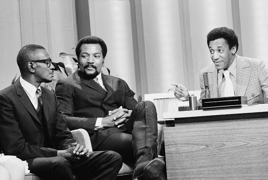 Cosby Host The Tonight Show Photograph by Henry Groskinsky