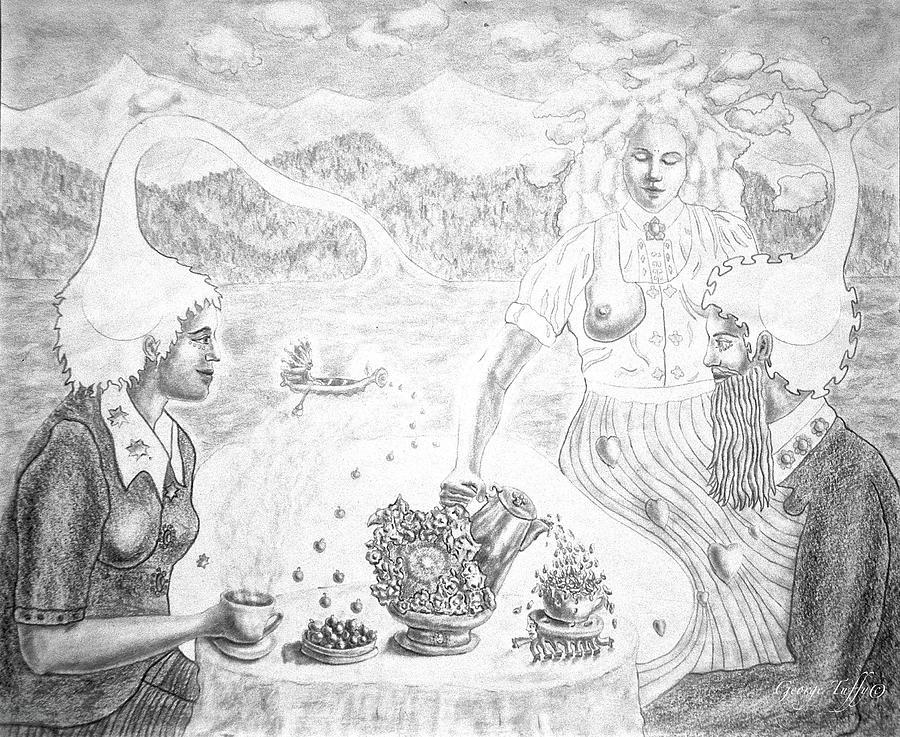 Cosmic breakfast by George Tuffy