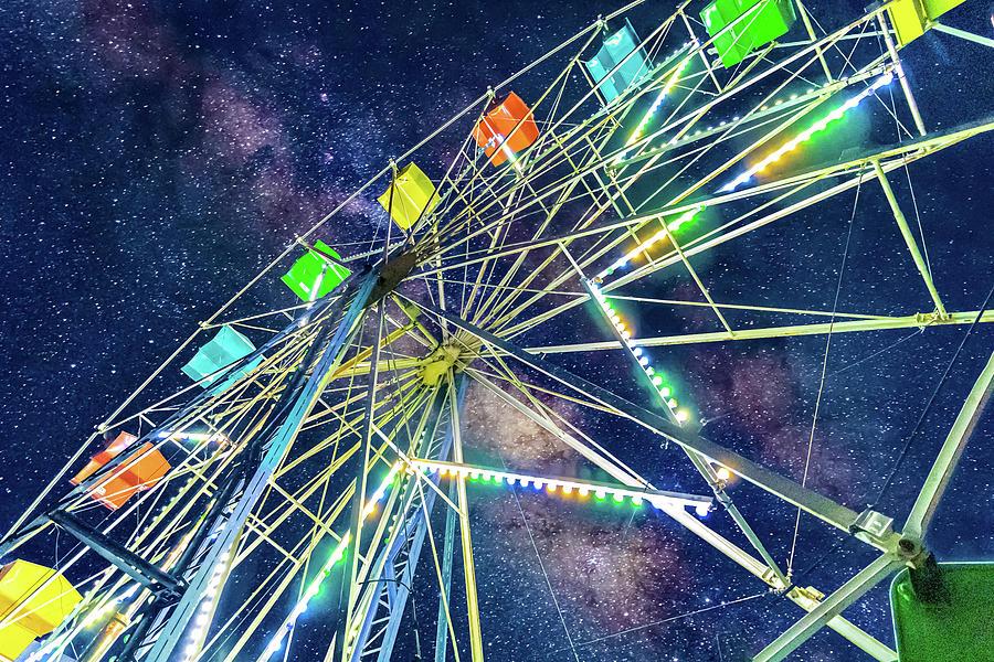 Cosmic Ferris Wheel by Jonny D