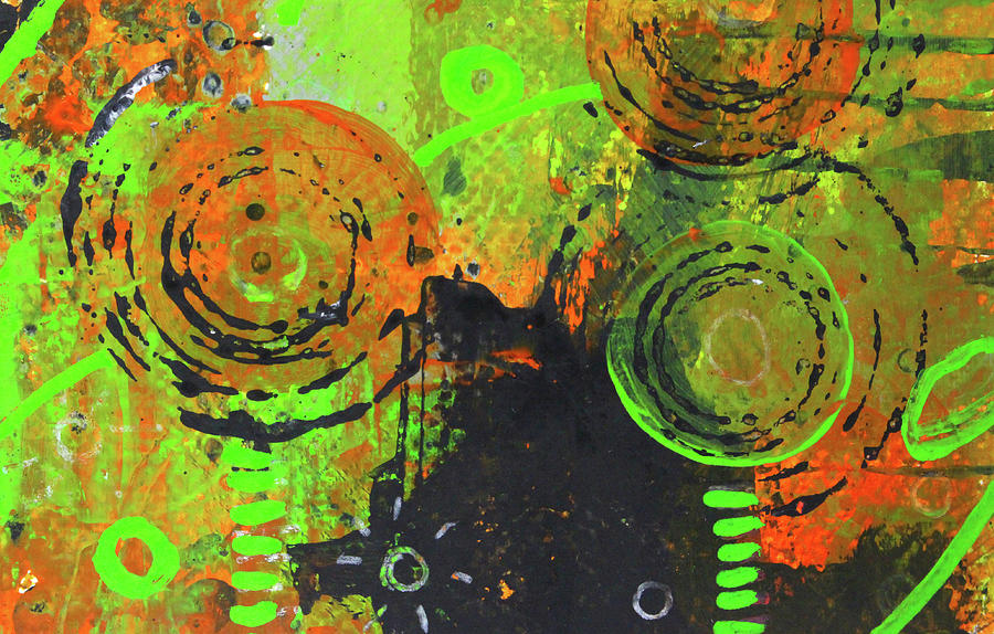 Cosmic Garden 1 by Nancy Merkle