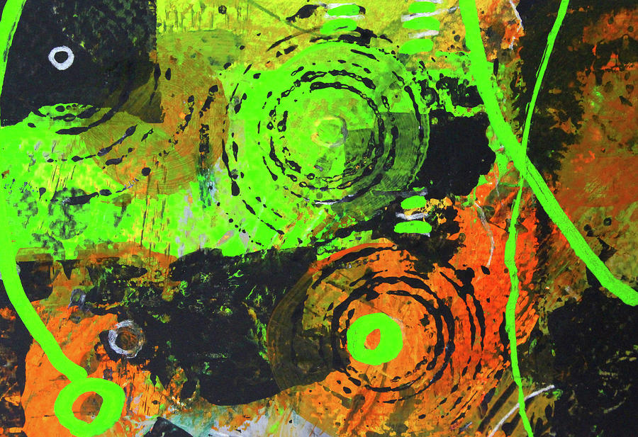Cosmic Garden 2 by Nancy Merkle