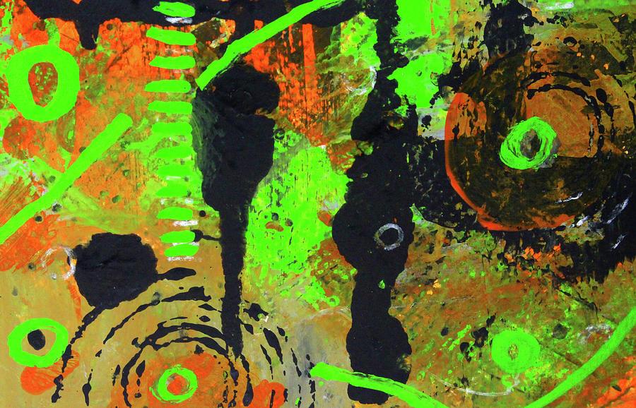 Cosmic Garden 4 by Nancy Merkle