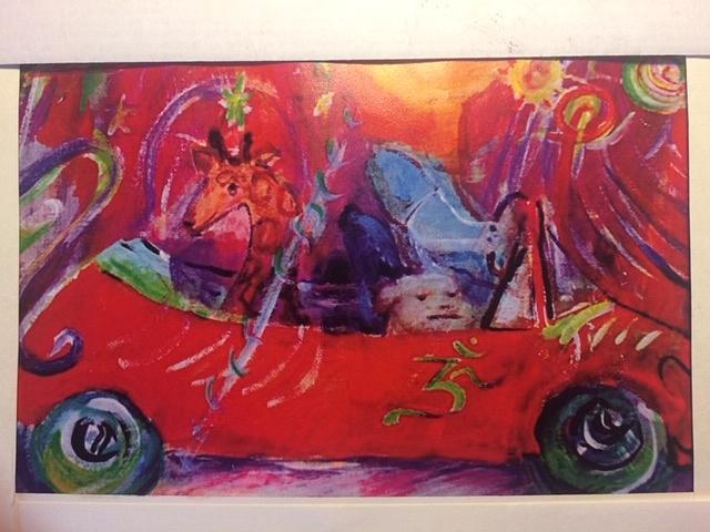 Cosmic OM ride by Claremaria Vrindaji Bowman
