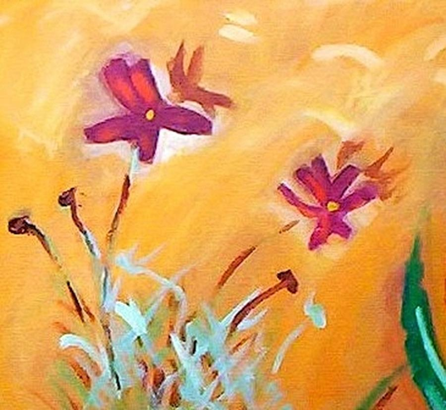 Cosmos Daisies by Winsome Gunning