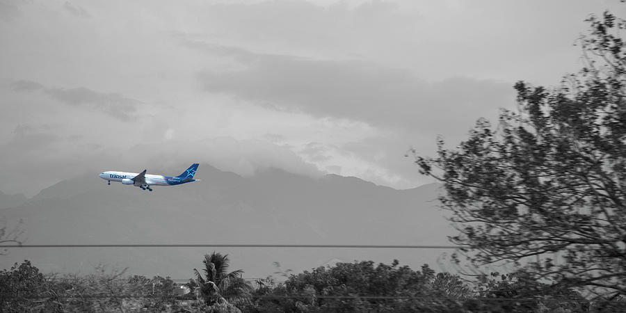 Costa Photograph - Costa Rica Airport Airplane by Betsy Knapp