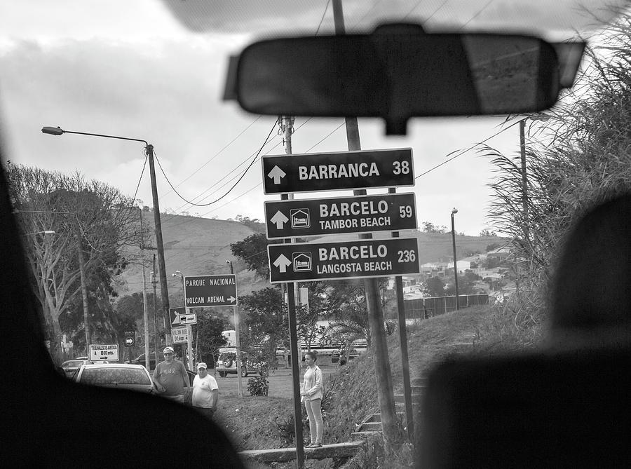 Costa Photograph - Costa Rica Backseat Driver by Betsy Knapp