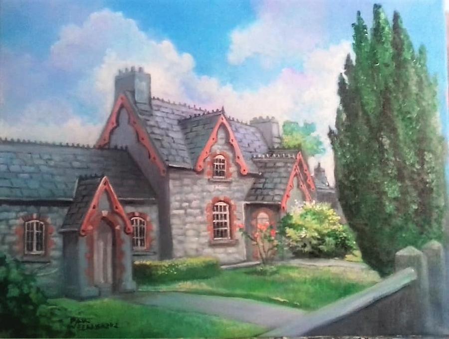 COTTAGE IN BISHOPS ST NEWCASTLE WEST by PAUL WEERASEKERA