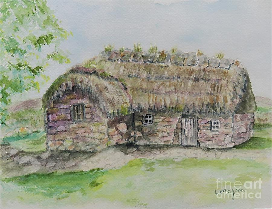 Cottage on Culloden Moor by Laurie Morgan