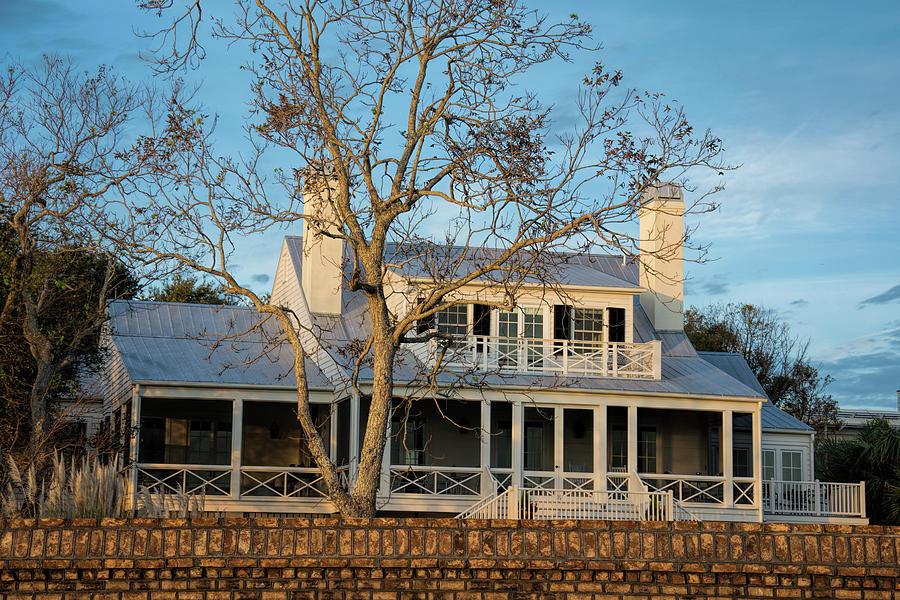 Cottage Sundown by Ed Waldrop