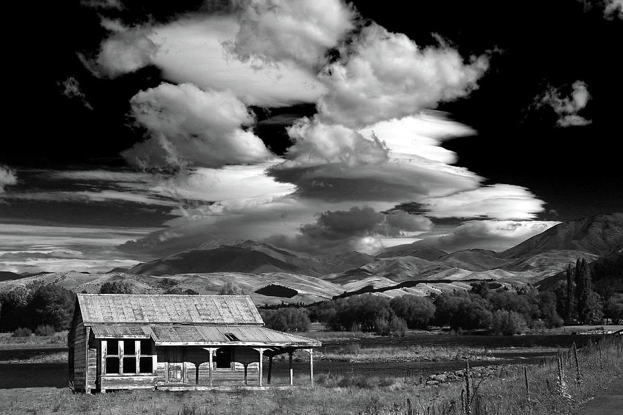 Cottage with Big Sky by Nareeta Martin