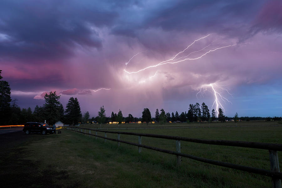 Cotton Candy Lightning by Cat Connor