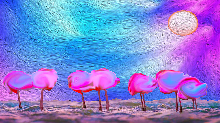 Cotton Candy Trees by Bruce IORIO