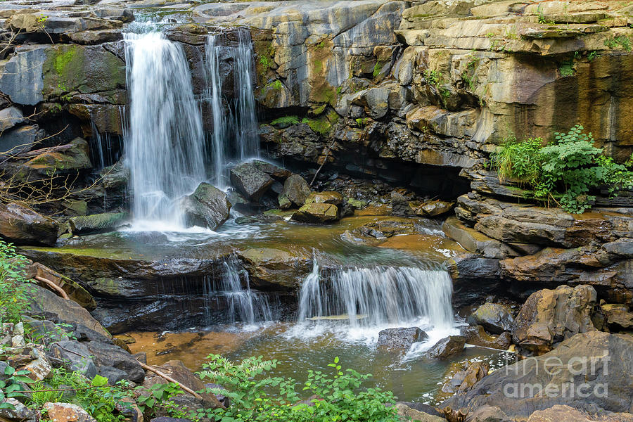Cotton Hill Waterfall by Norma Brandsberg