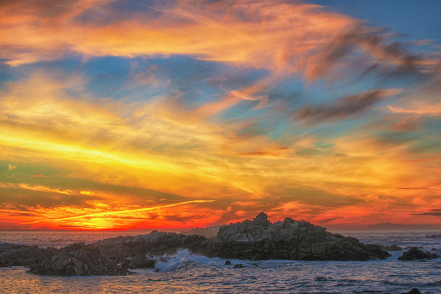 California Photograph - Couds At Sunset by Fernando Margolles