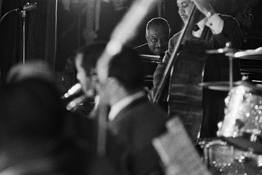 Count Basie In Paris, France In 1963 - Photograph by Herve Gloaguen