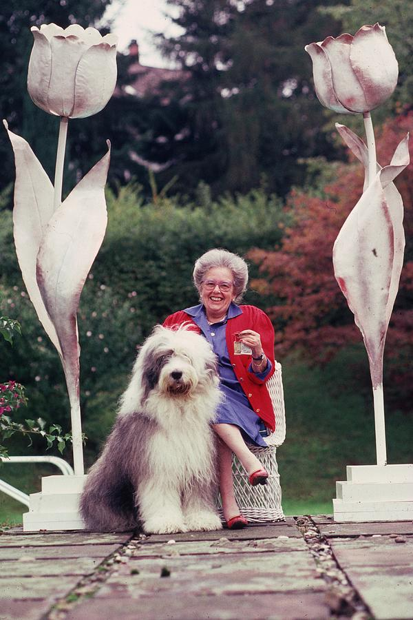Countess Hardenberg Photograph by Slim Aarons