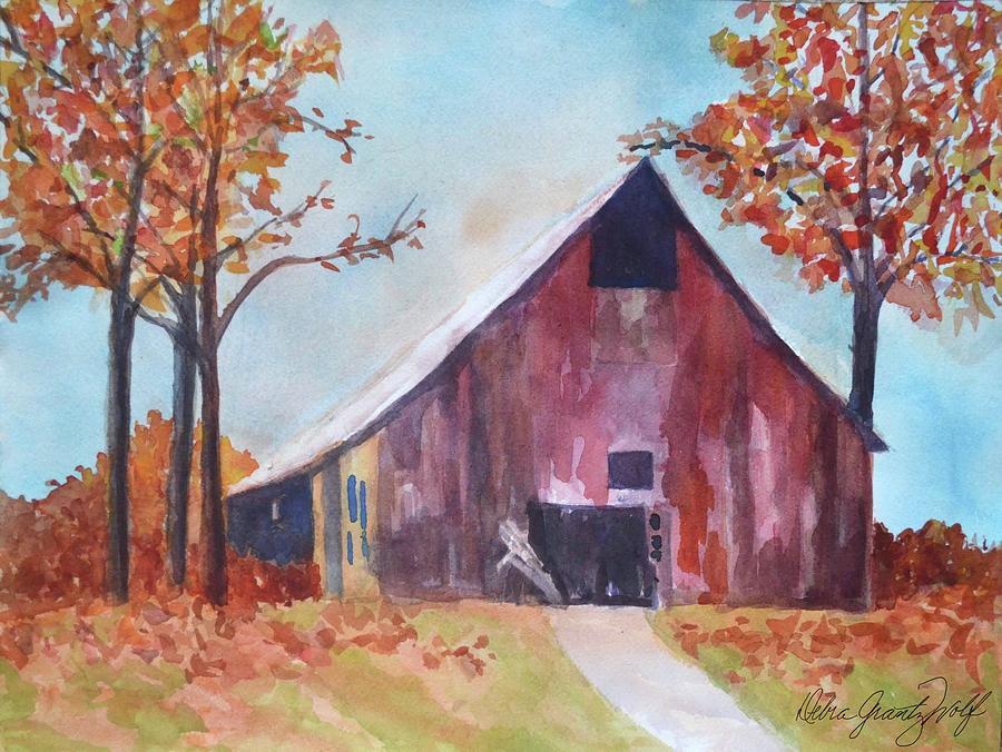 Weathering Painting by Debra Grantz Wolf
