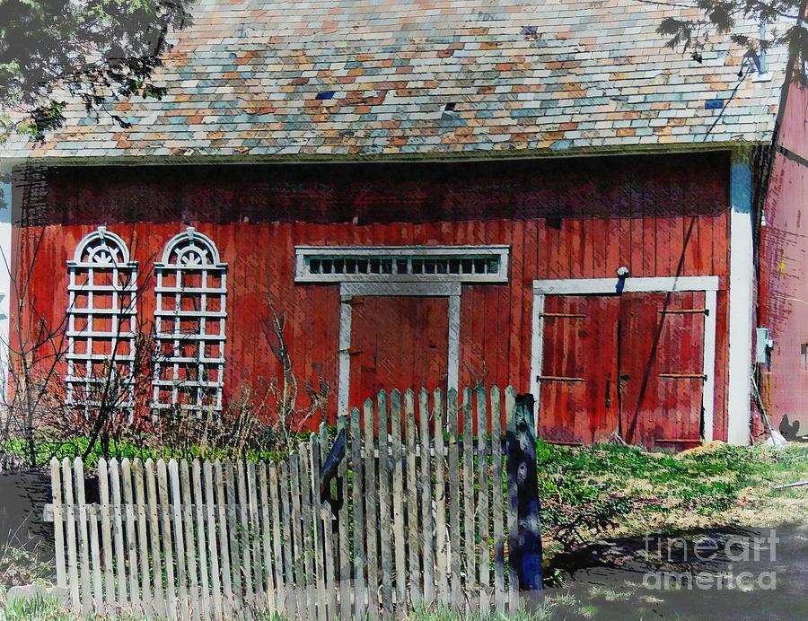 Country Barn by Marcia Lee Jones