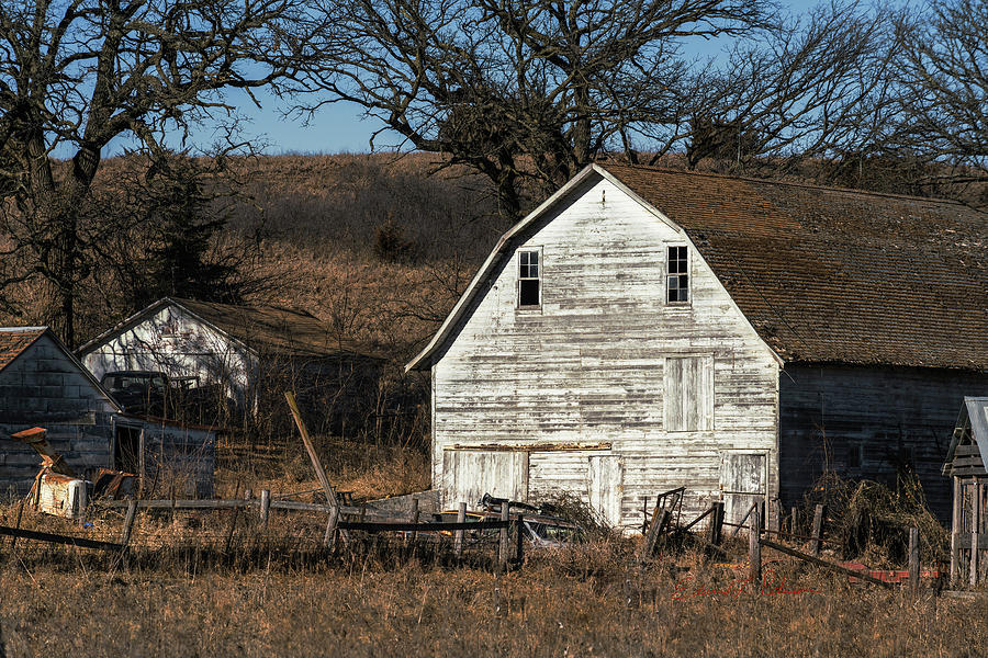 Country Barn Standing by Edward Peterson