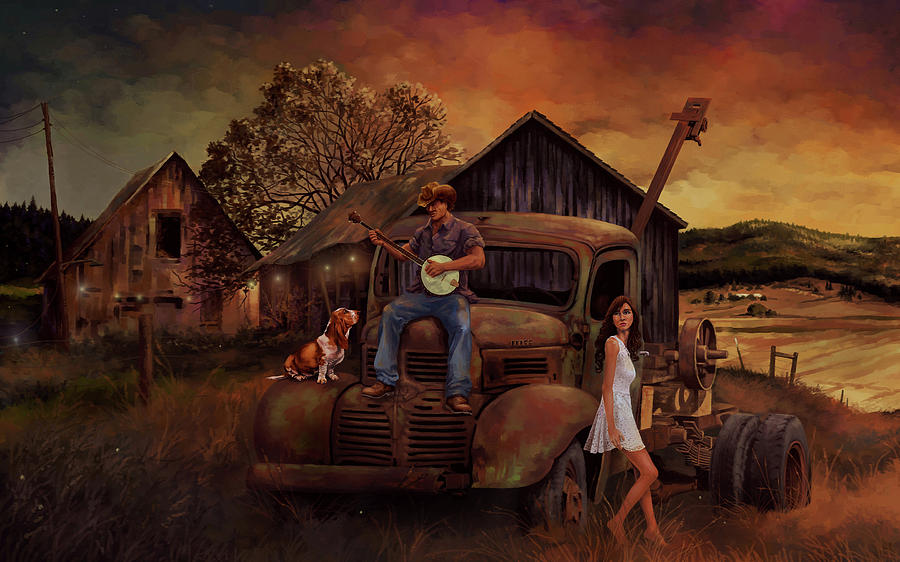 Country Boy's Dream by Hans Neuhart