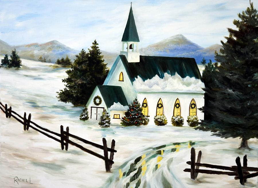 Country Chapel by Rachel Lawson
