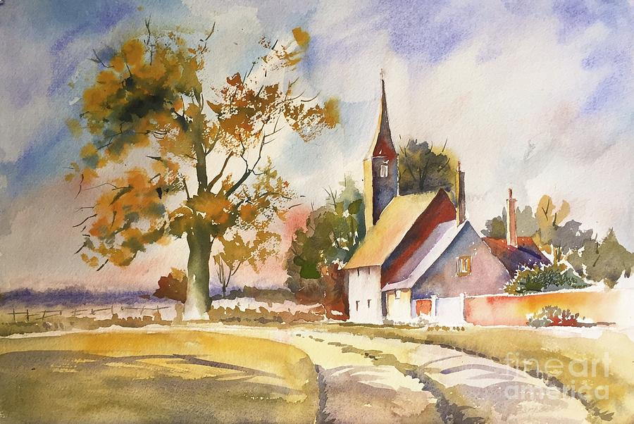 Country Church  by George Jacob