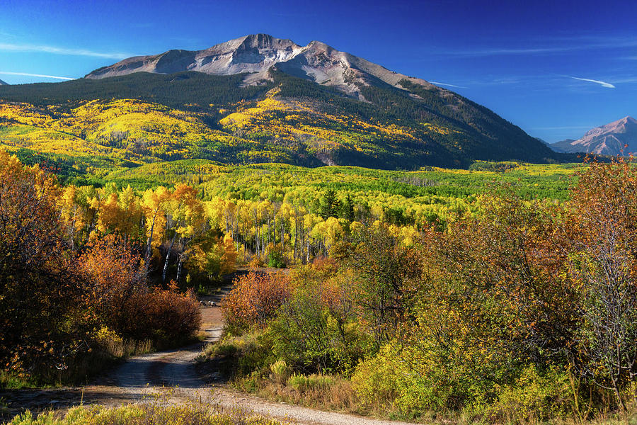 Country Colorado Roads by John De Bord