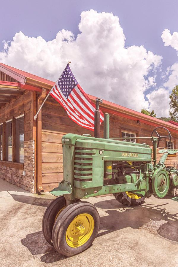 American Photograph - Country Deere II by Debra and Dave Vanderlaan