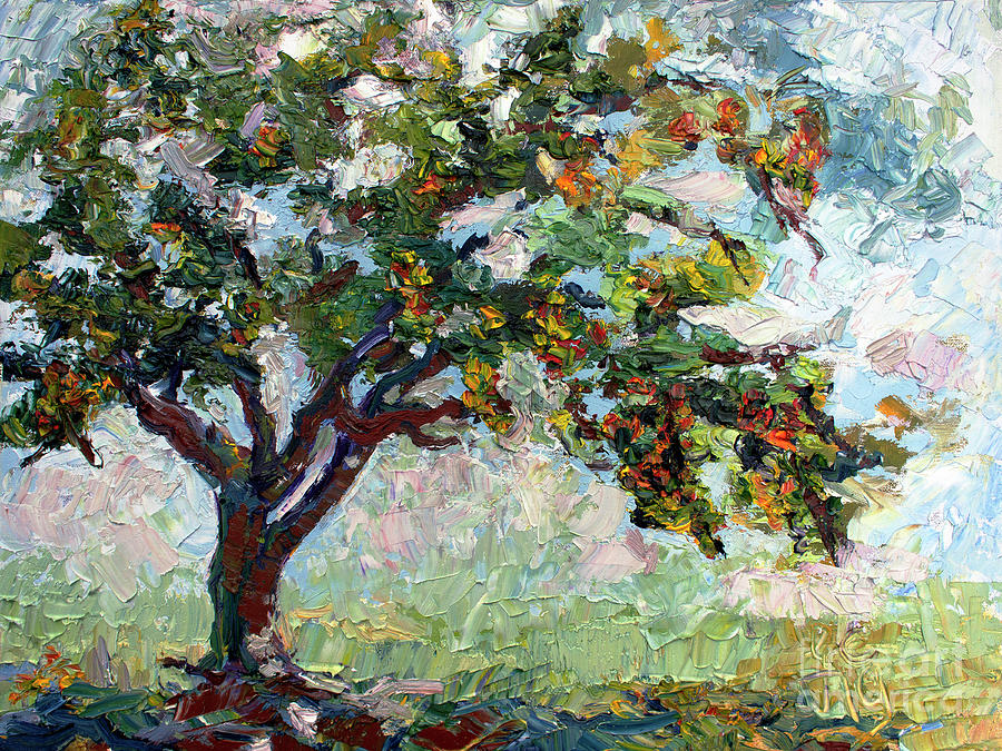 Country Garden Apple Tree by Ginette Callaway