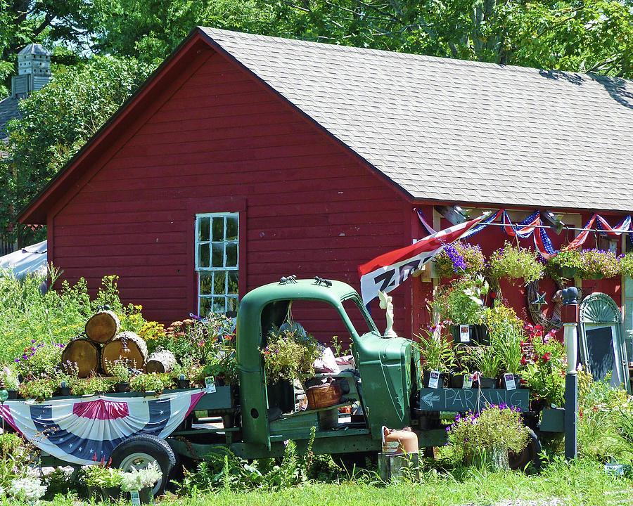 Griswold Connecticut Garden Center by Toni Leland