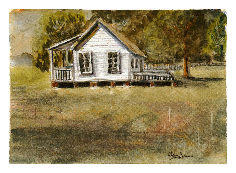 Country Living Painting - Country Living by Barry Jones