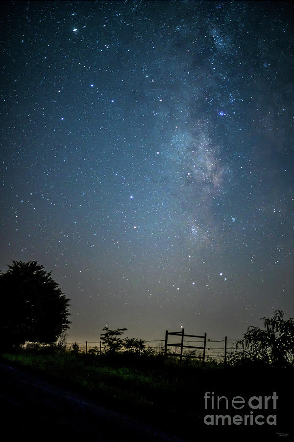 Country Milky Way by Jennifer White