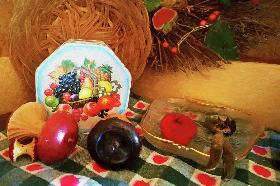 Country Place Setting by Rick Wicker
