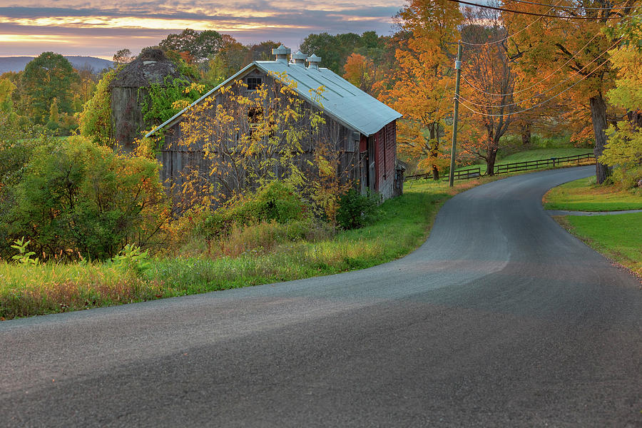 Country Road by Bill Wakeley