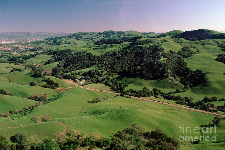 Country Road, Foothills Of Pleasanton California Photograph