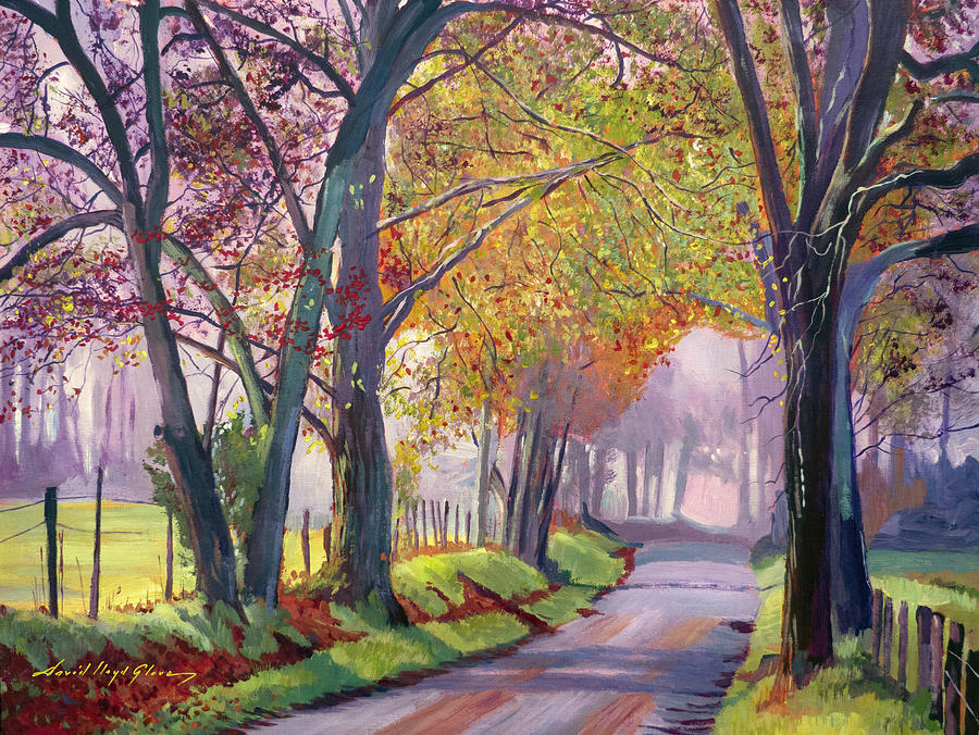 Country Roads Painting