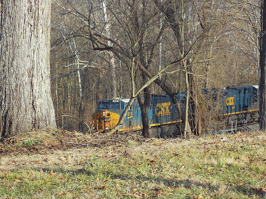 West Virginia Photograph - Country Train by Matthew Seufer