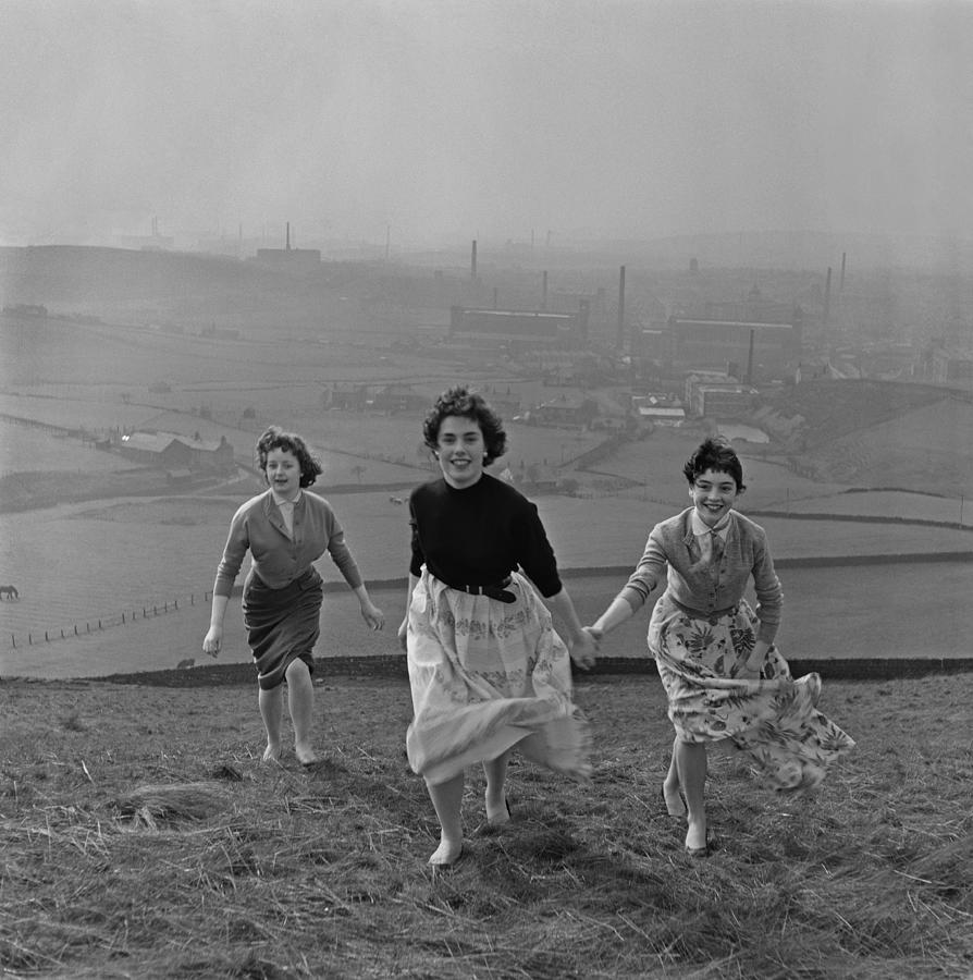 Country Walk Photograph by Bert Hardy