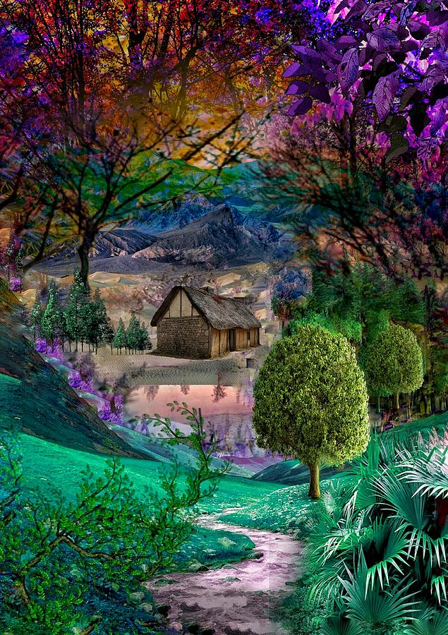 Countryside Beauty Digital Art