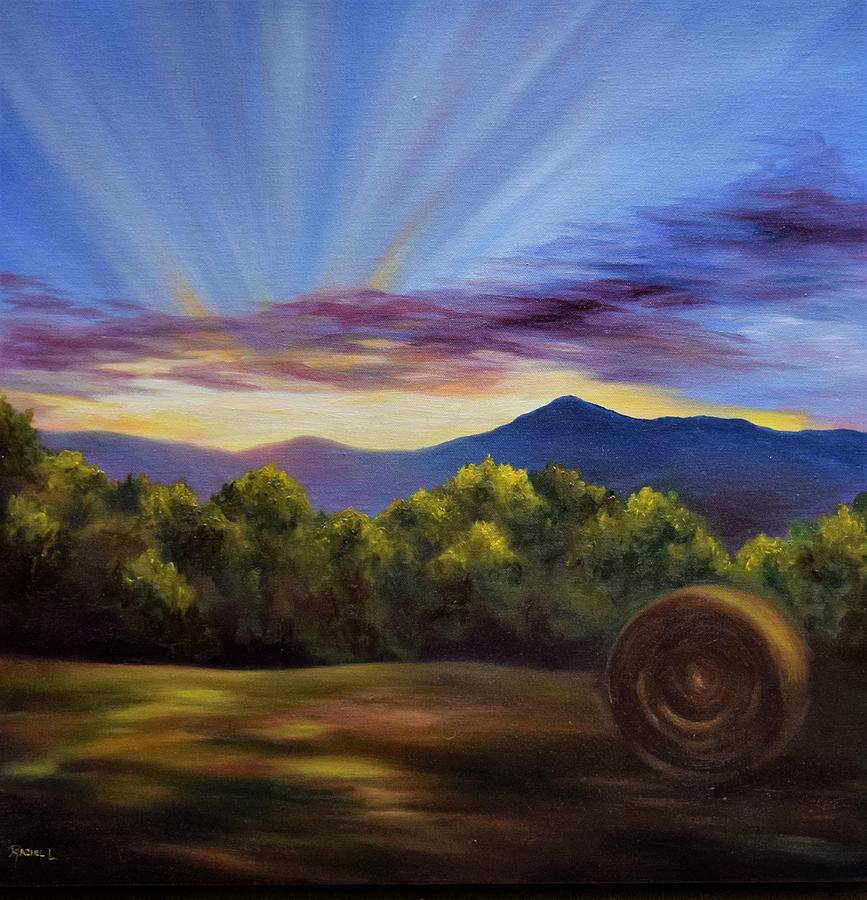 Countryside Sunset by Rachel Lawson