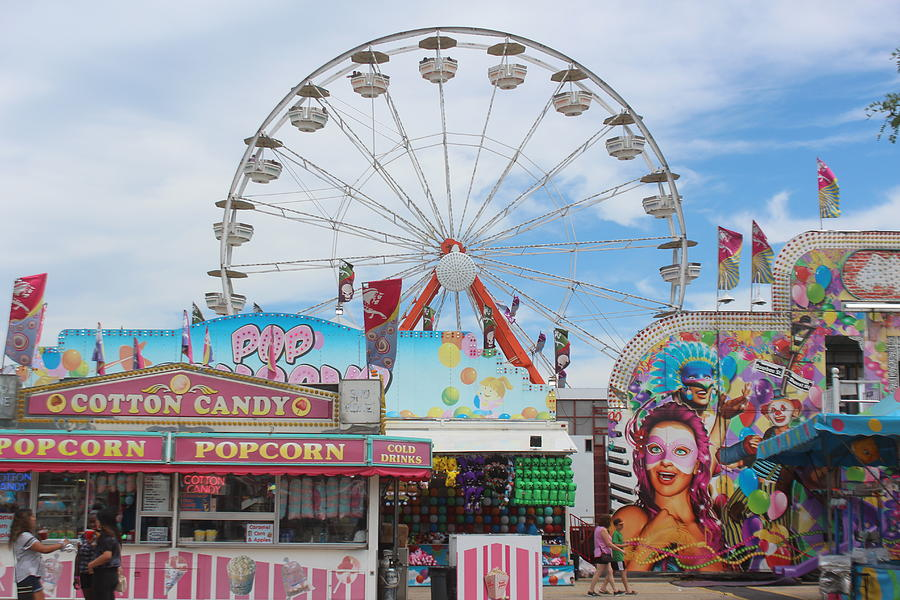 County Fair Photograph - County Fair by Callen Harty