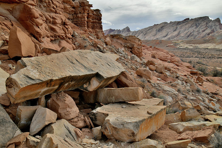 County Road 1028 View of San Rafael Swell by Ray Mathis