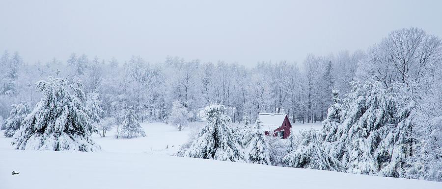 County Winter Scene Photograph